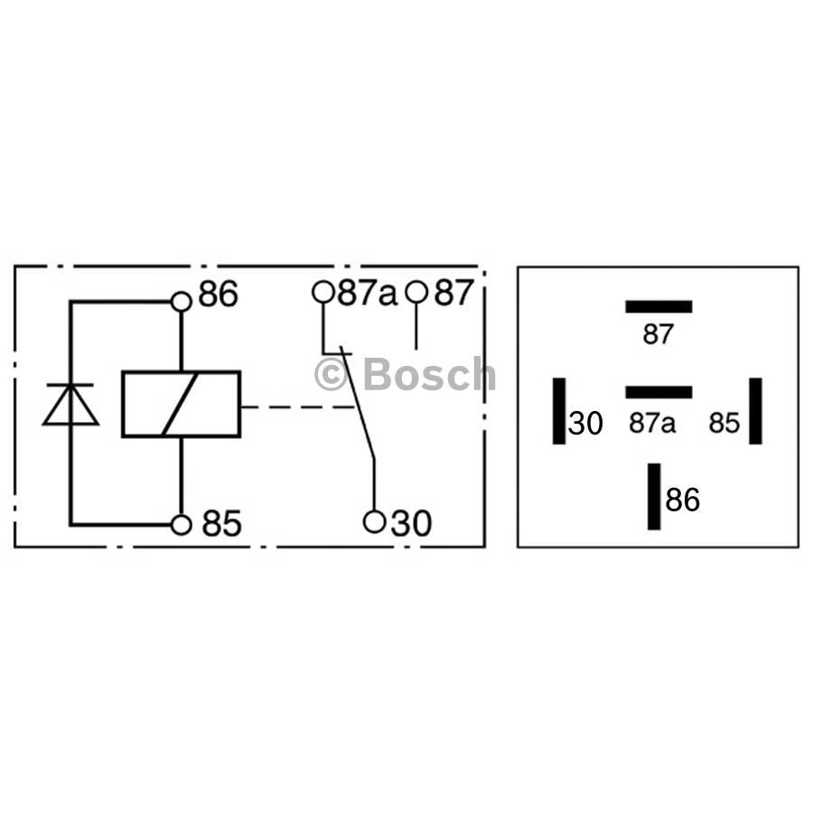 mini relay 0332209158 - single