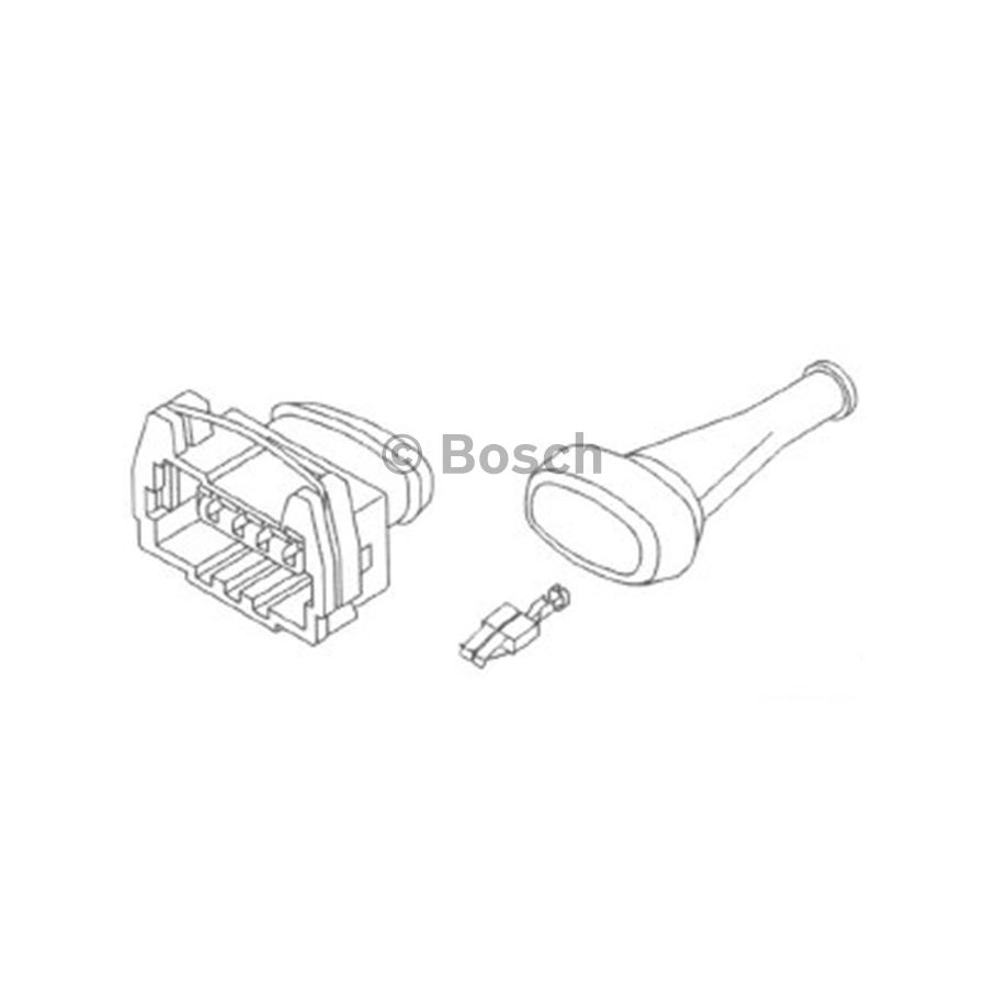 connector plug kit f005x10642 - 4 pin female