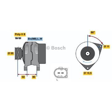 0124325052 Bosch Alternator Schematic - Online Schematic Diagram •
