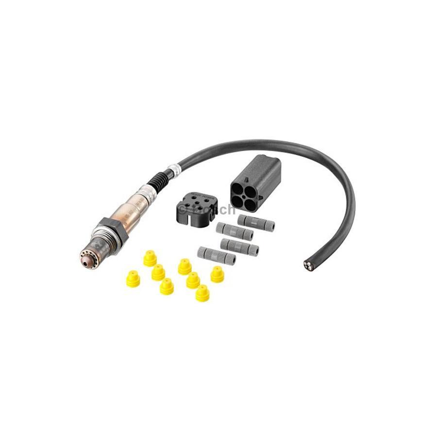 Oxygen Sensor 0258986602 4 Wires Bosch Auto Shop 05 Honda Wiring Product May Vary Slightly