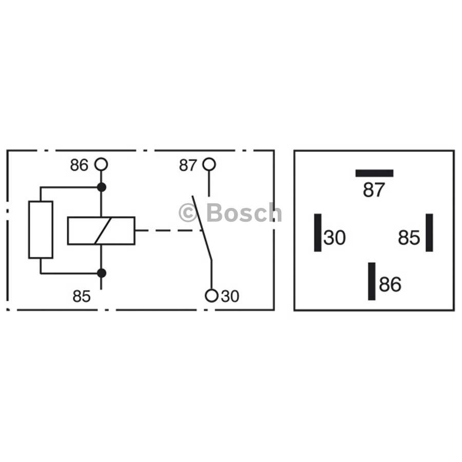 Mini Relay 0332019451 Single Bosch Auto Shop Opel Omega Fuse Box Product May Vary Slightly