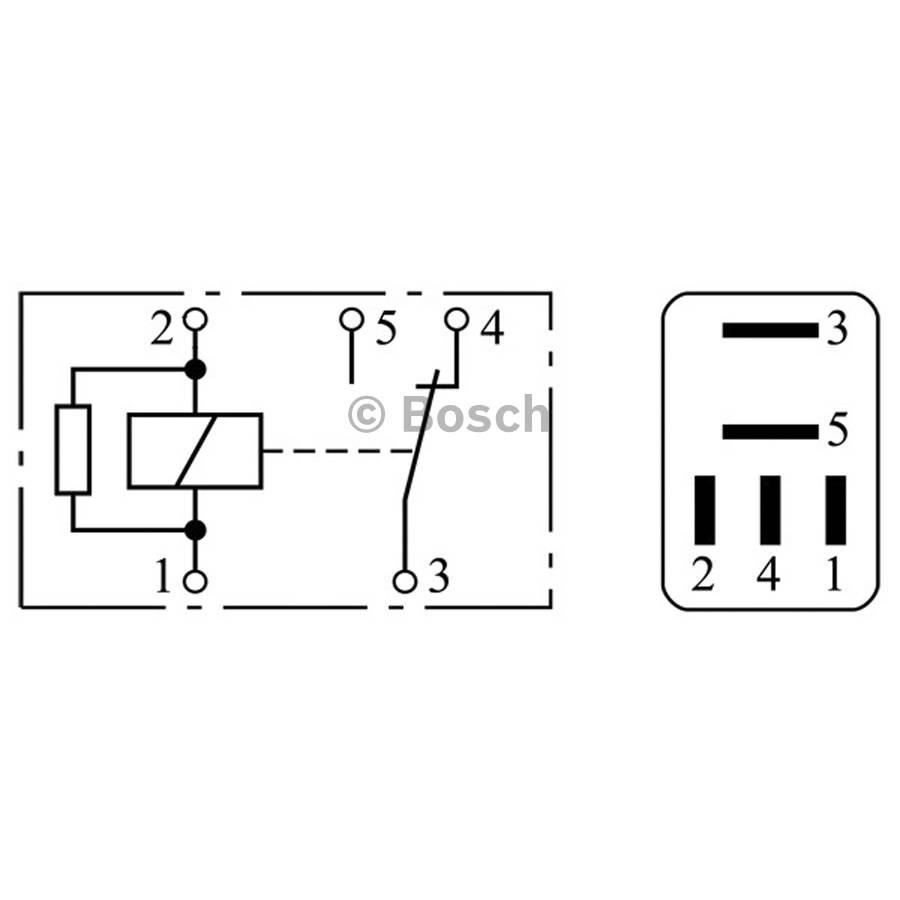 Mini Relay 0332201107 Single Bosch Auto Shop Opel Omega Fuse Box Product May Vary Slightly