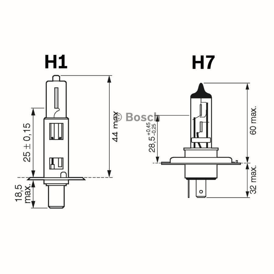 Maxibox H1 H7 12v Kit Bosch Auto Shop Toyota Wish Fuse Box