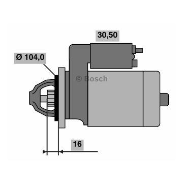 Starter BXF456